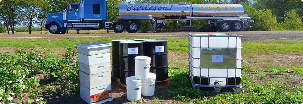 Ingredient Bulk Honey Products by Burleson's Honey